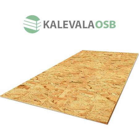 Плита ОСП-3 (OSB-3) Калевала 2440x1220