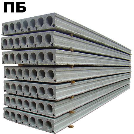 Плиты перекрытий бетонные ПБ