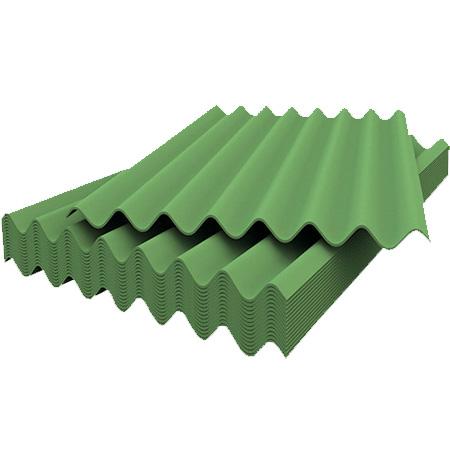 Шифер 7-ми волновой Зеленый