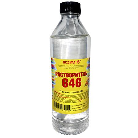Растворитель 646 ЯСХИМ 0,5л