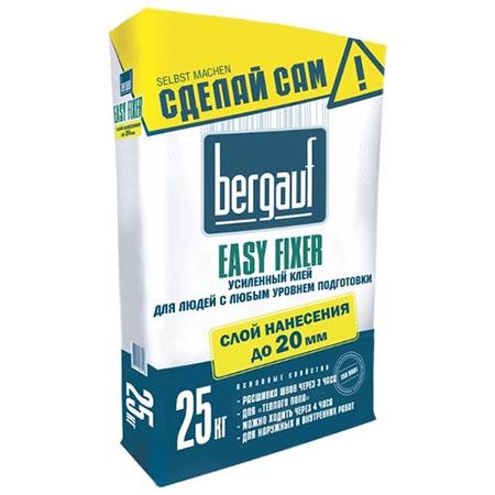 Клей для плитки Bergauf Easy Fixer 25 кг