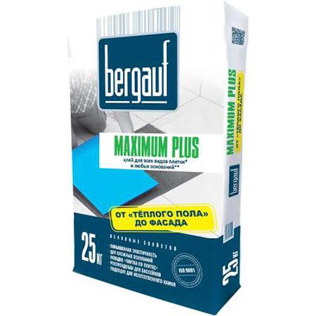 Клей для плитки Bergauf Maximum Plus 25 кг