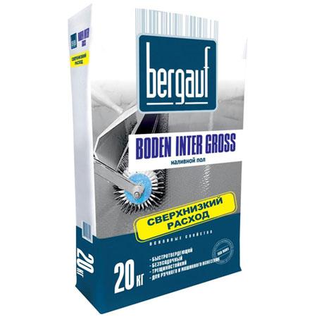 Наливной пол Бергауф Inter Gross 20 кг