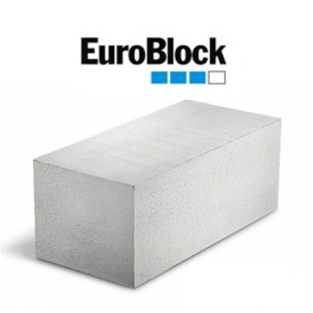 Газосиликатный блок ЕвроБлок фото