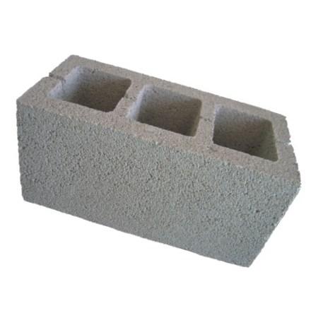 керамзитобетонный блок 3-х пустотный фото