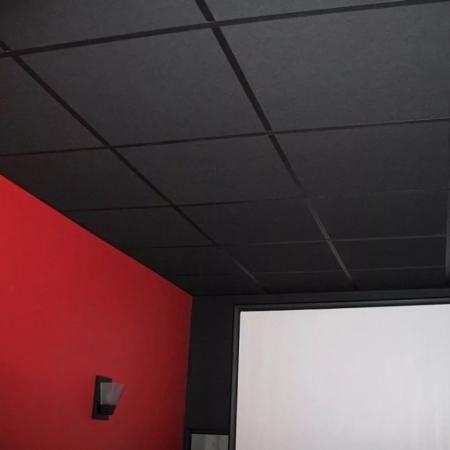 купить черные потолочные плиты
