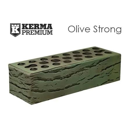 купить кирпич керма премиум 07 лава олив стронг