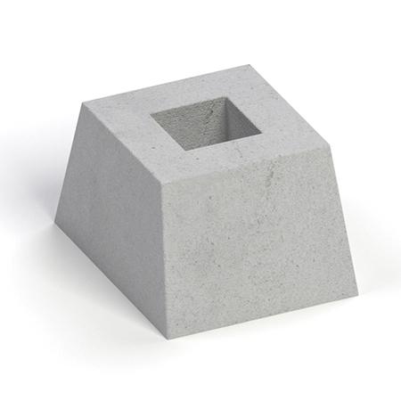 купить стакан бетонный для забора